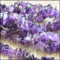 Amethyst Gemstone Chip Beads
