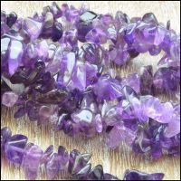 Amethyst Gemstone Chip Beads
