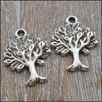 Silver Tree Of Life Charms