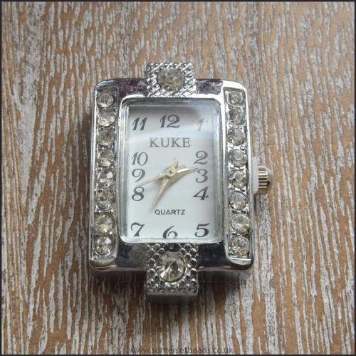 Rectangle Rhinestone Watch Face