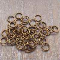 6mm Bronze Open Jump Rings