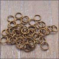 7mm Bronze Open Jump Rings