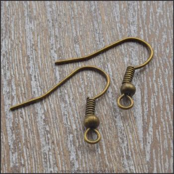 Bronze Shepherd Hook Ear Wires