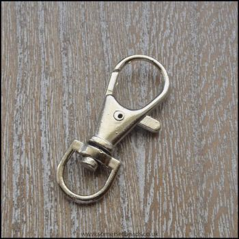 Silver Keyring Swivel Clips