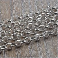 5mm Silver Plated Belcher Chain