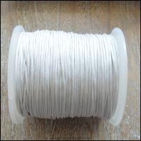 Ecru 1mm waxed Cotton Cord