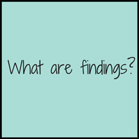 what-are-findings-