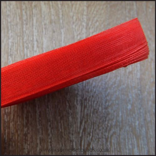 Red Organza Ribbon