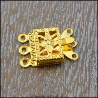 Gold Book Style Box Clasps