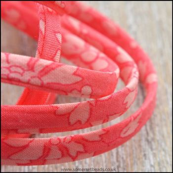 Liberty Of London Spaghetti Ribbon 4mm Capel Padparadscha.