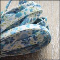 Liberty Of London Spaghetti Ribbon 4mm Phoebe Blue