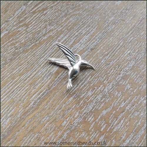 Sterling Silver Hummingbird Charm
