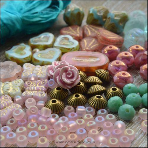 Pink & Aqua Inspiration Pack