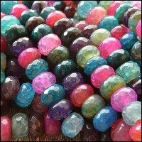 Agate Semi Precious Beads