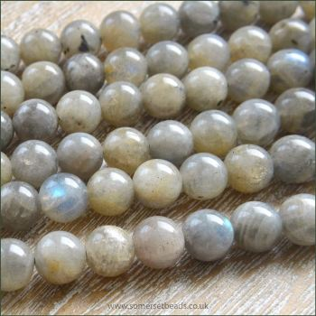8mm Labradorite Semi Precious Beads