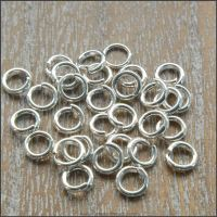 5mm Silver Plated Strong Open Jump Rings
