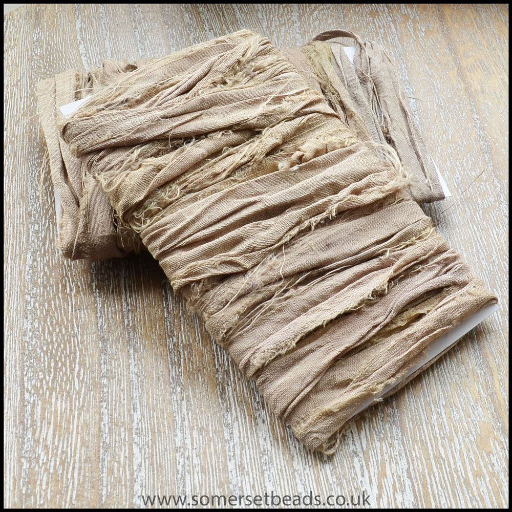Latte Sari Silk Ribbon