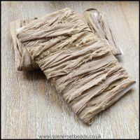 Latte Sari Silk Ribbon