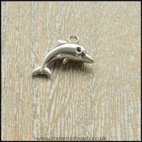 Silver Dolphin Charms