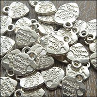 Silver Tone Charms