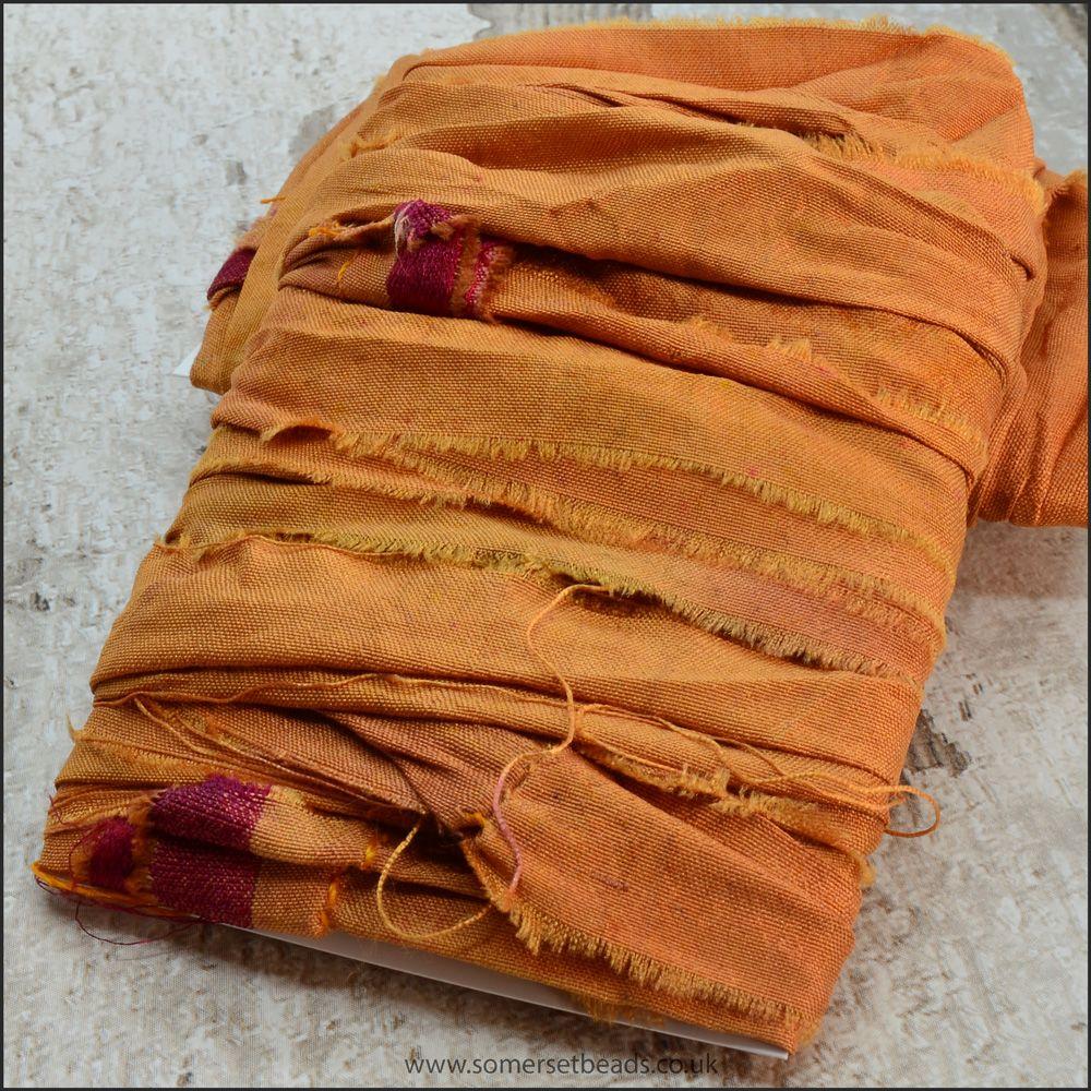 Spice Sari Silk Ribbon