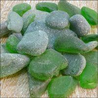 Sea Glass Bundle - Green - 100g