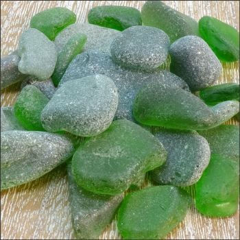 Sea Glass Bundle - Green - 100g