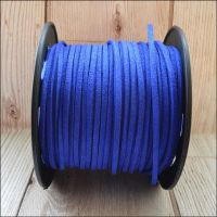 3mm Faux Suede Cord - Royal Blue