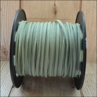 3mm Faux Suede Cord - Mint Green