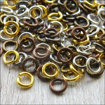 5mm Mixed Strong Open Jump Rings