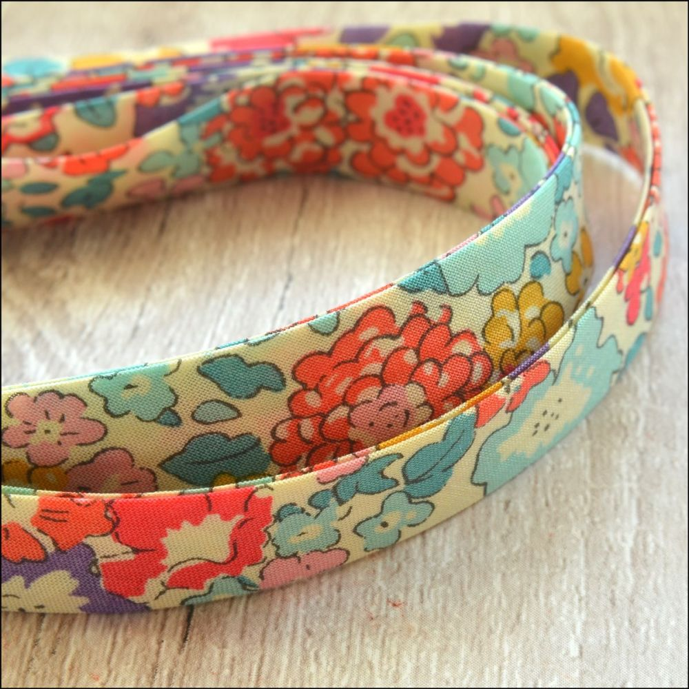 Liberty Of London Bias Ribbon 10mm Michelle Multicolour