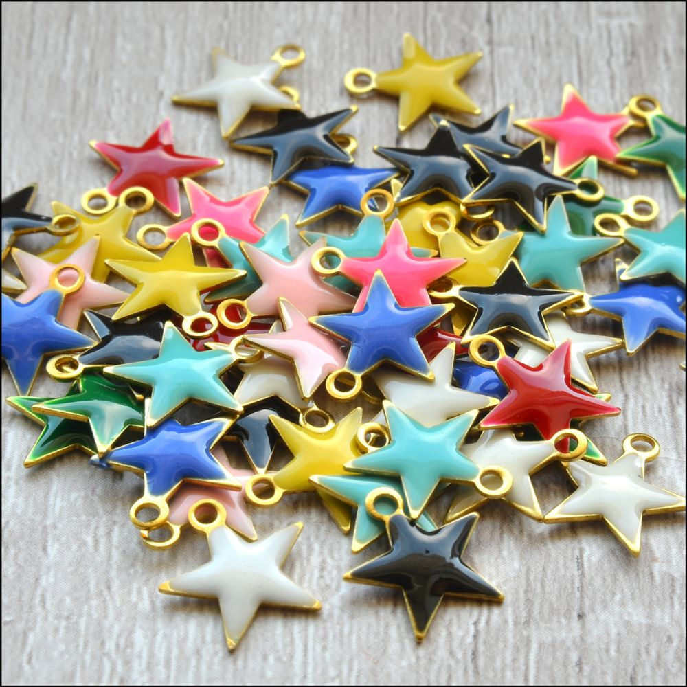 Enamel Charms