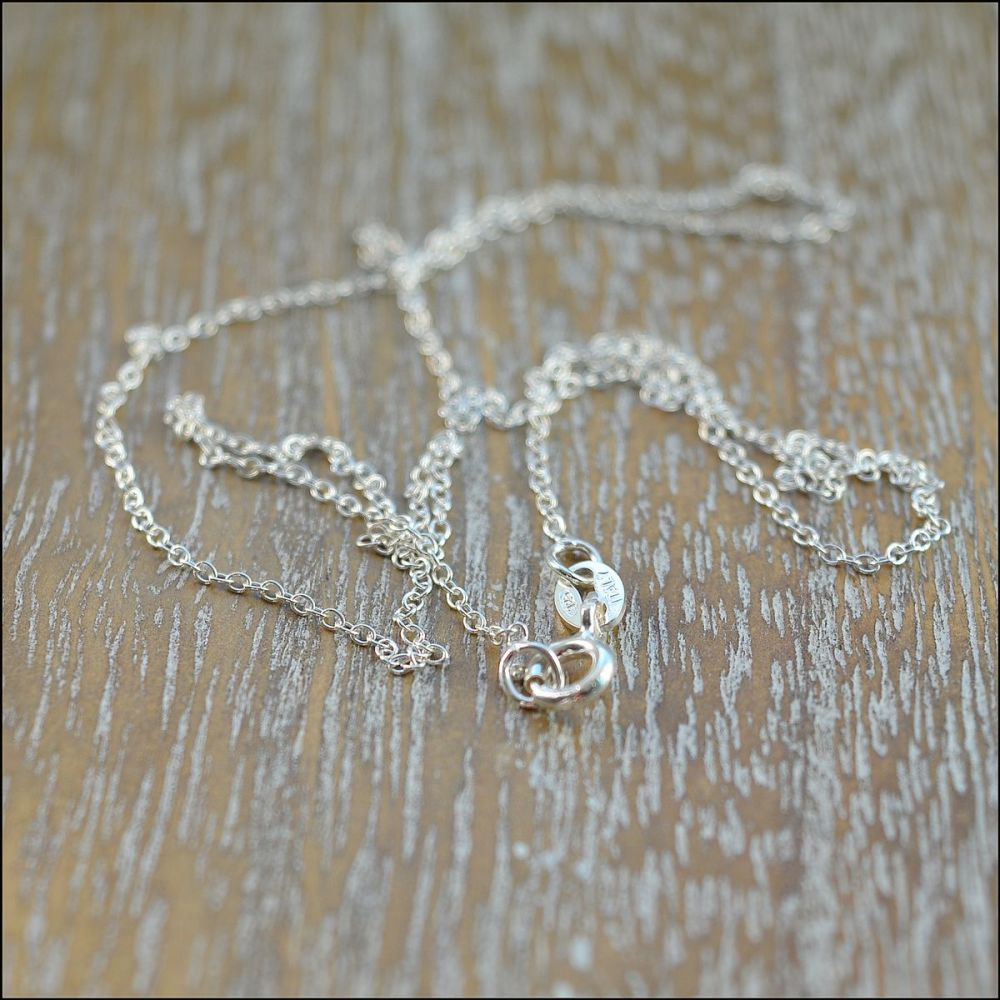 925 Sterling Silver  18 Inch Complete Snake Chain Necklace