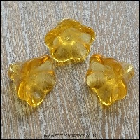 Gold & Yellow Glass Beads