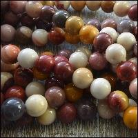 Mookaite Semi Precious Beads