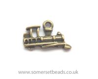 <!-- 054 -->Bronze Steam Train Charms
