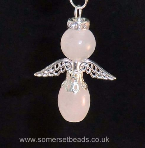 Rose Quartz Gemstone Guardian Angel Making Kit