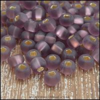 Preciosa Czech Glass Seed Beads 6/0 Matte Light Amethyst