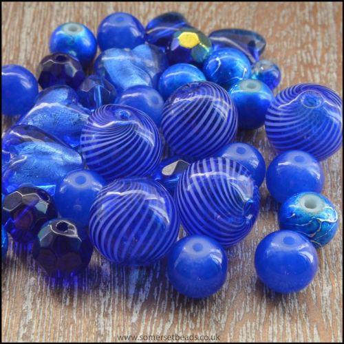 Royal Blue Bead Mix