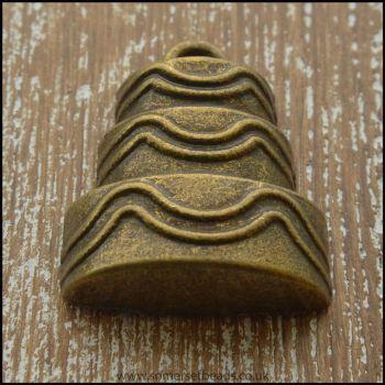 Bronze Tone Cake Charms