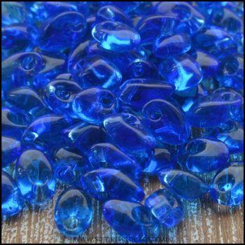 Miyuki Long Magatamas Sapphire Transparent - LMA 0150B