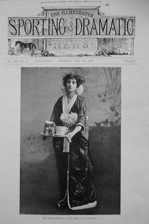 Miss Marie Dainton as The Geisha in