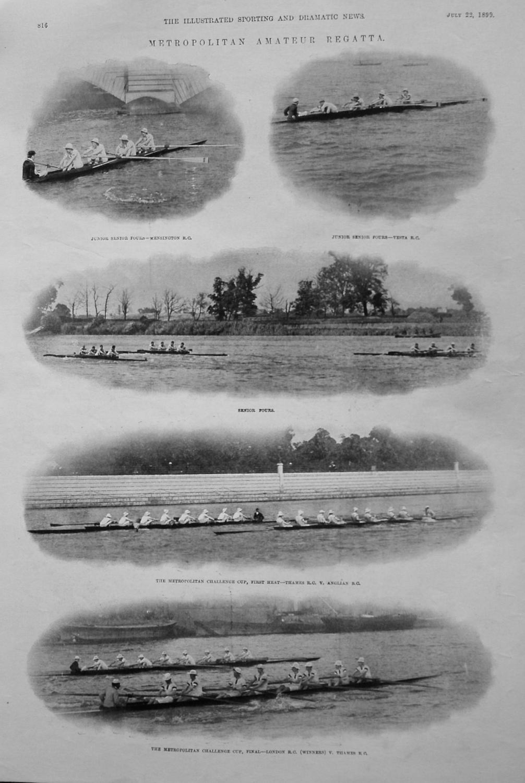 Metropolitan Amateur Regatta. 1899