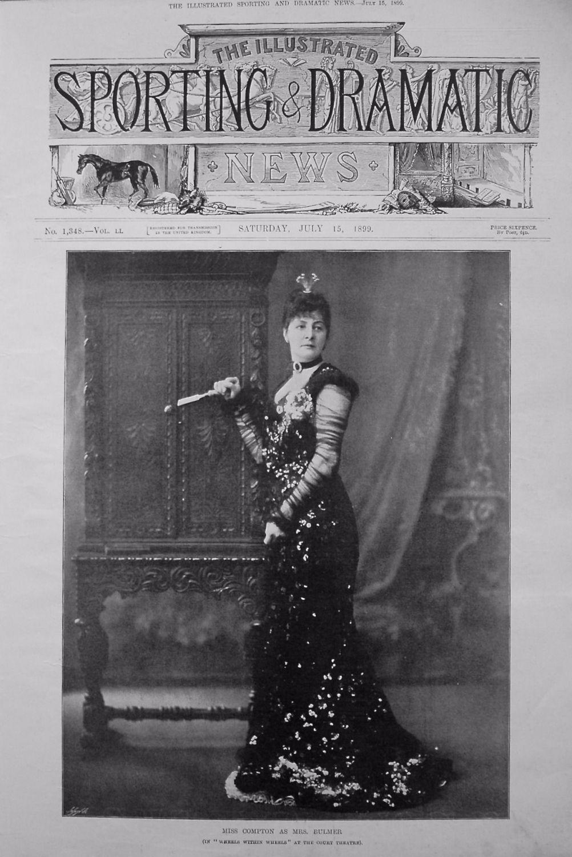Miss Compton as Mrs. Bulmer. (in