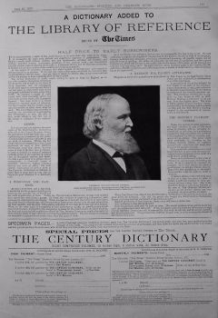 The Century Dictionary. Issued by The Times. 1899