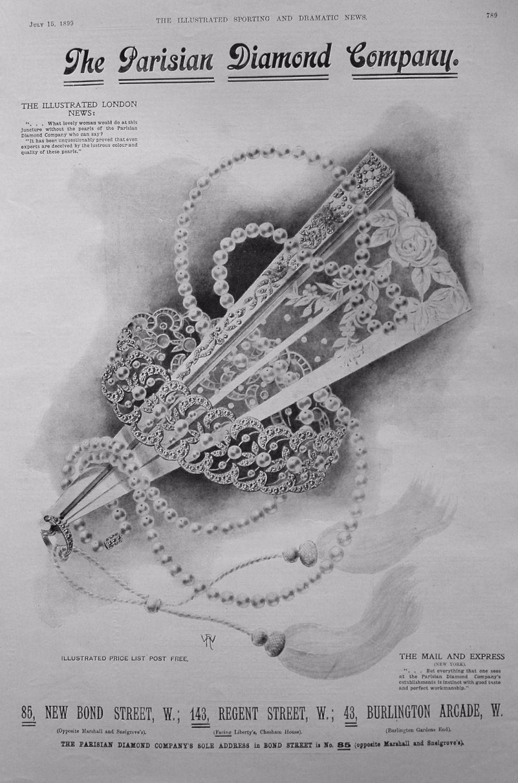 The Parisian Diamond Company. 1899
