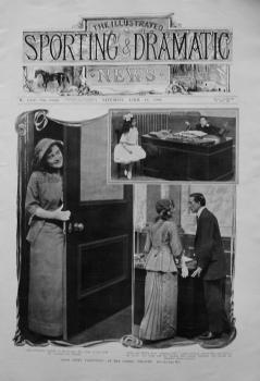 """Alias Jimmy Valentine,"" at the Comedy Theatre. 1910"