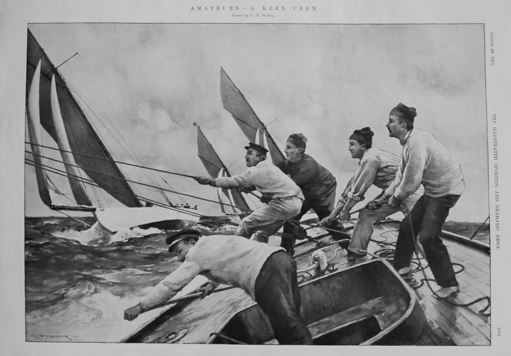 Amateurs. - A Keen Crew. 1909