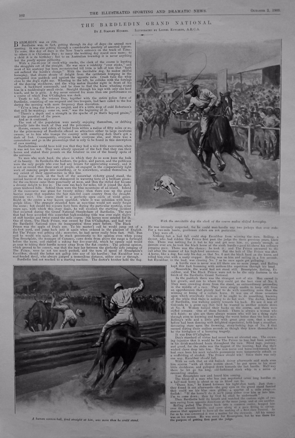 The Bardledin Grand National. By J. Stanley Hughes. 1909