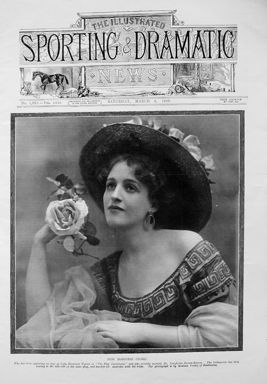 Miss Marjorie Chard. 1909